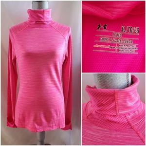 Under Armour fitted Fly By Turtleneck